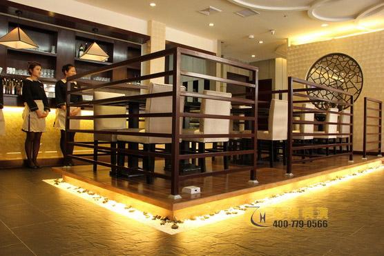 上海顶级日本料理餐厅设计装修-稻菊